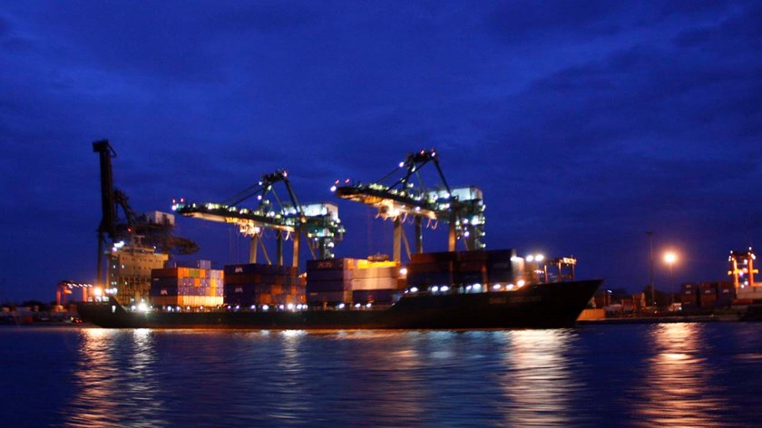 Saigon Port. Photo courtesy of Huu Vinh/Tien Phong