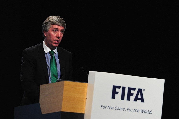 Football Association of Ireland CEO John Delaney. Photographer: Jamie McDonald/FIFA via Getty Images