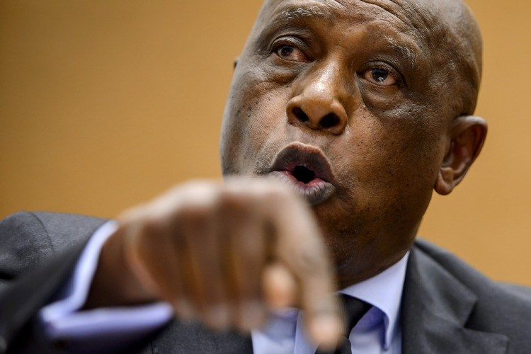 Tokyo Sexwale, member of the organizing committee for South Africa's soccer World Cup. Photo: AFP