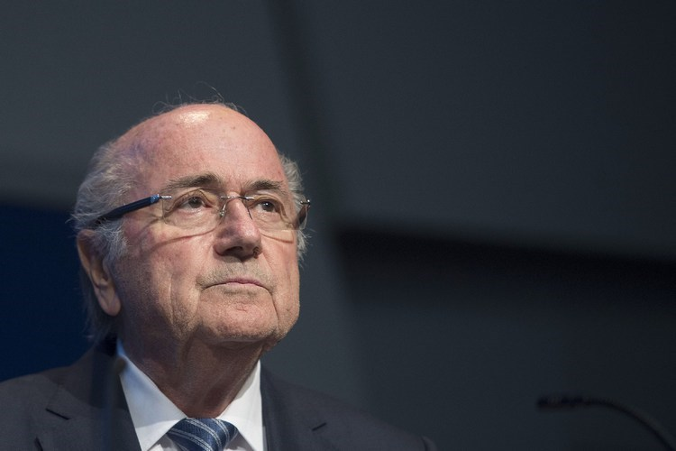 FIFA President Sepp Blatter. Photo: AFP