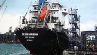 The MT Orkim Harmony which was hijacked off the south-east coast of Malaysia last week. File photo