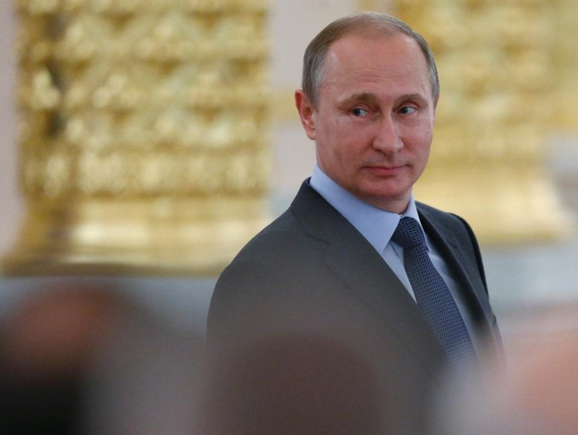 Russian President Vladimir Putin in Moscow on June 23, 2015