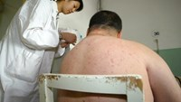 The average Chinese man weighed 66.2 kilograms (146 pounds) in 2012, having put on an average 3.5 kilograms over 10 years, according to a government report