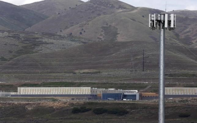 A National Security Agency (NSA) data gathering facility is seen in Bluffdale, about 25 miles (40 km) south of Salt Lake City, Utah May 18, 2015.