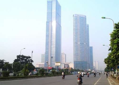 Keangnam Enterprises is trying to sell the 72-story building, constructed in Vietnam's capital Hanoi in 2011. Photo: Ha An