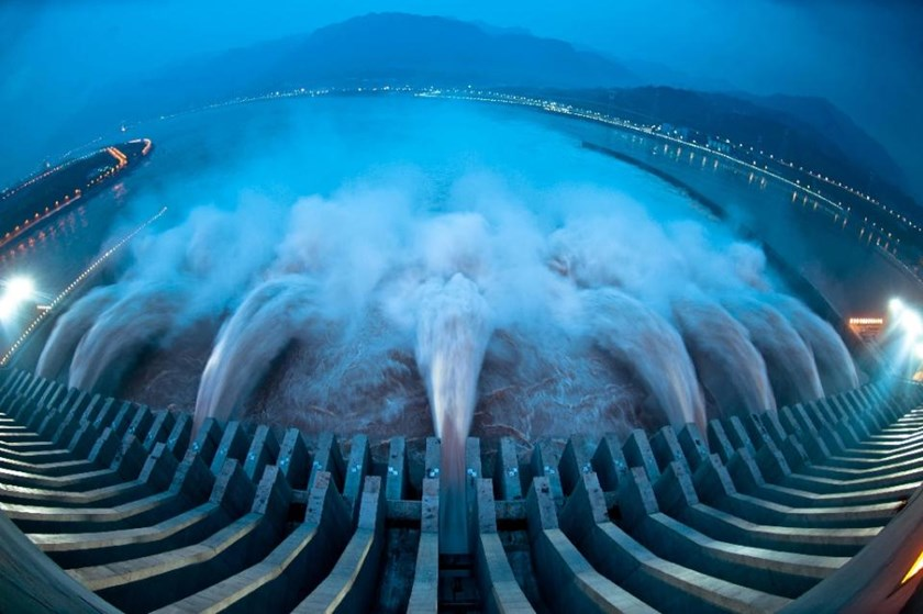 The Three Gorges Dam on the Yangtze river is one of 85,000 hydropower facilities in China. Photo: AFP