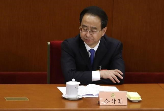 Ling Jihua, newly elected vice chairman of the Chinese People's Political Consultative Conference (CPPCC), pauses while attending the opening ceremony of the CPPCC at the Great Hall of the People in Beijing March 3, 2013. China has started a probe into alleged corruption of Ling, a former senior aide to former president Hu Jintao, the official Xinhua news agency said on December 22, 2014. Photo: Reuters
