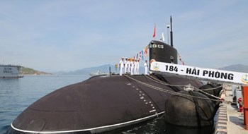 Two more Kilo-class submarines are commissioned