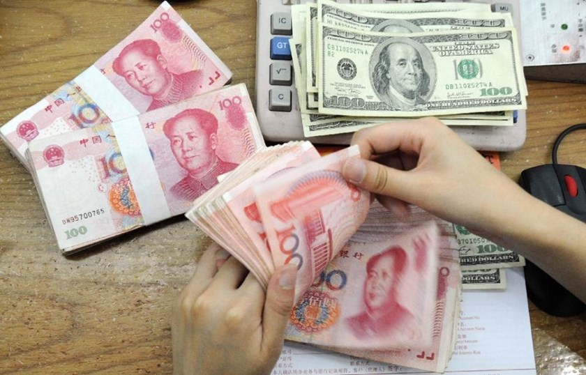 The daily reference rate is set at 6.3975 yuan to $1.0, up from 6.4010 the previous day, the China Foreign Exchange Trade System says