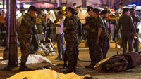 Bomb in Thai capital kills 16, wounds 81 in bid 'to destroy economy'