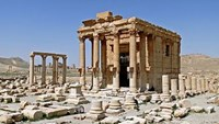 Islamic State militants blow up temple in ancient city of Palmyra