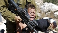 Scuffle in the West Bank
