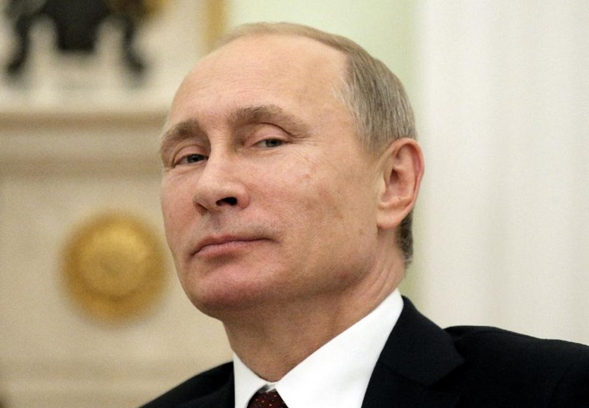 "Russian President Vladimir Putin says ""there's no need to be afraid of Russia"""