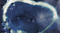 Mischief Reef is shown in this handout satellite image dated September 8, 2015 and provided by CSIS Asia Maritime Transparency Initiative/Digital Globe September 14, 2015.