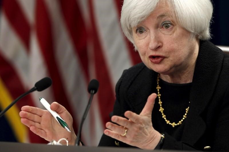 Federal Reserve Chair Janet Yellen holds a news conference following the Federal Open Market Committee meeting in Washington September 17, 2015.