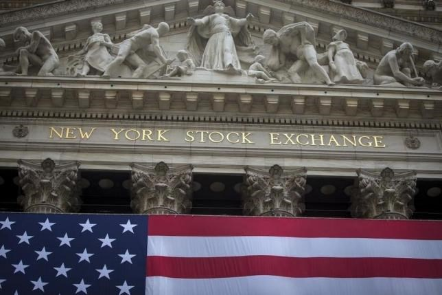 The New York Stock Exchange is pictured in the Manhattan borough of New York, September 21, 2015.