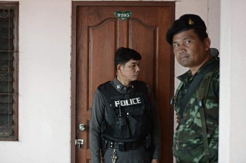 Thai police arrested a man with a history of mental illness who hacked five children to death and took him to hospital