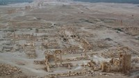 A general view shows the historical city of Palmyra, Syria, August 5, 2010.