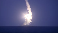 Russia turns to backwater navy for Syria missile strikes