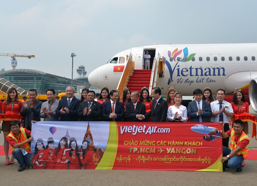 Vietjet launches route connecting Ho Chi Minh City and Myanmar