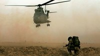 Five killed in British helicopter crash in Afghanistan
