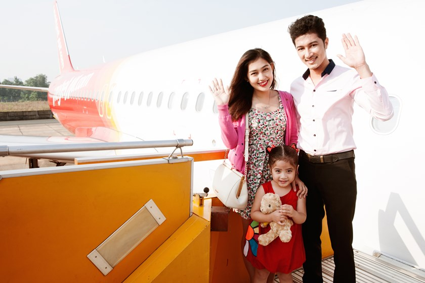 Air travel is now the easiest for everyone thanks to Vietjet