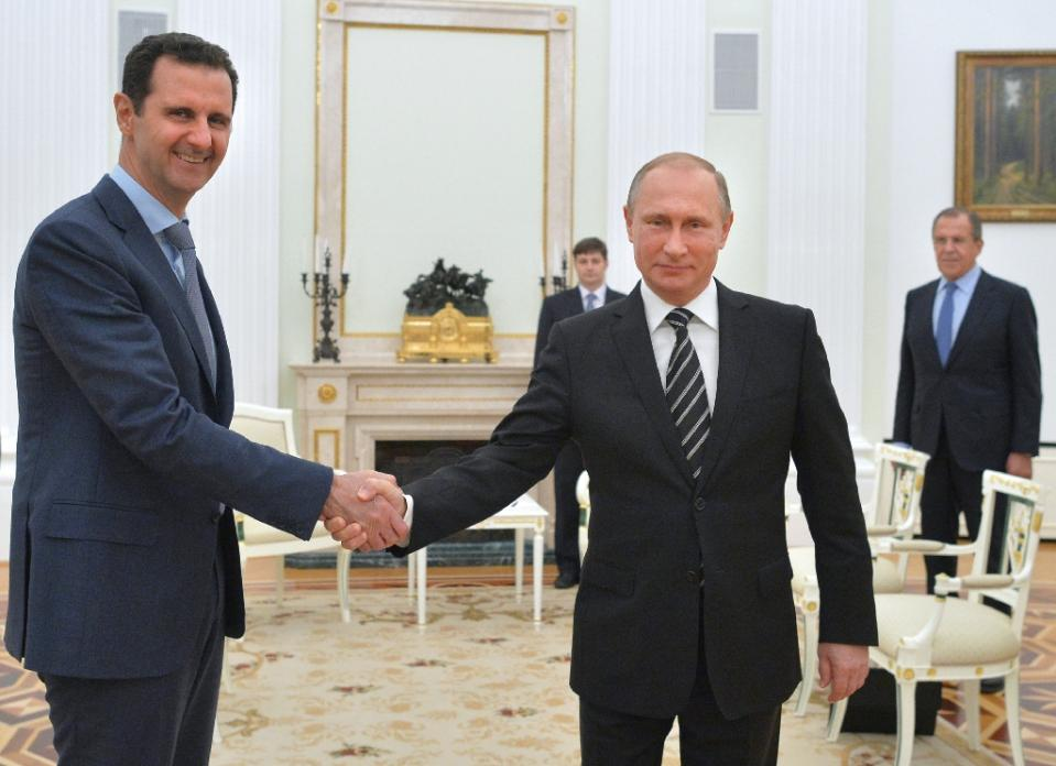 Russia takes Syria lead after Assad's surprise Moscow visit