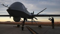 A Predator drone. Photo: AFP
