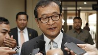 Cambodia National Rescue Party (CNRP) Sam Rainsy was convicted for defamation in 2011 for accusing the country's foreign minister of being a former Khmer Rouge member