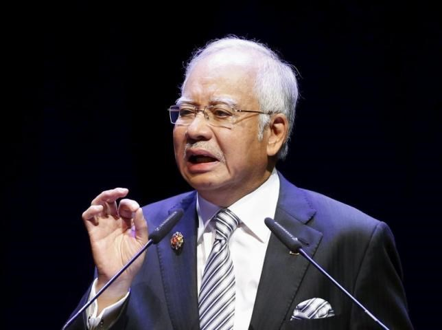 Malaysian Prime Minister Najib Razak delivers a speech at the opening of the ASEAN Summit in Kuala Lumpur November 21, 2015.