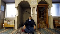 Jamal Habbachich, who heads a council of 22 Molenbeek mosques, poses for a picture at Attadamoun Mosque in the neighbourhood of Molenbeek, in Brussels, Belgium, November 20, 2015.