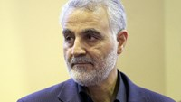 General Qassem Soleimani, commander of Iran's Revolutionary Guards had been hurt in fighting against Syria rebels near Aleppo