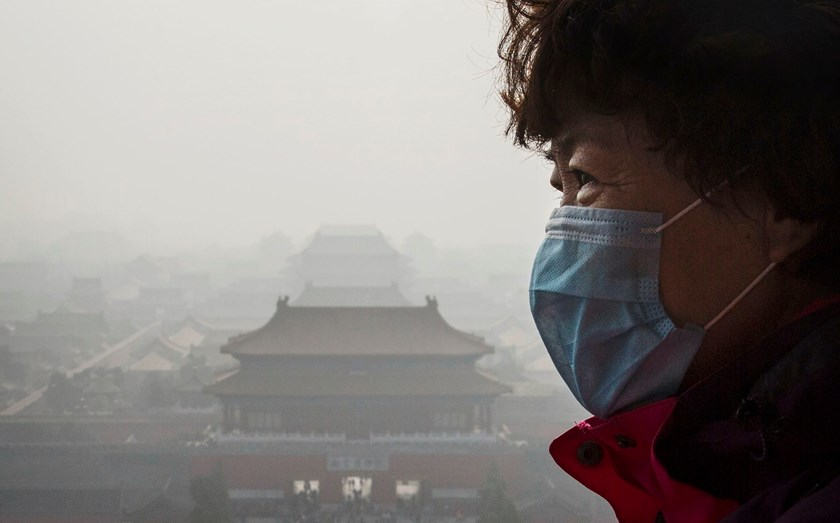 Beijing raises pollution alert to the second-highest level