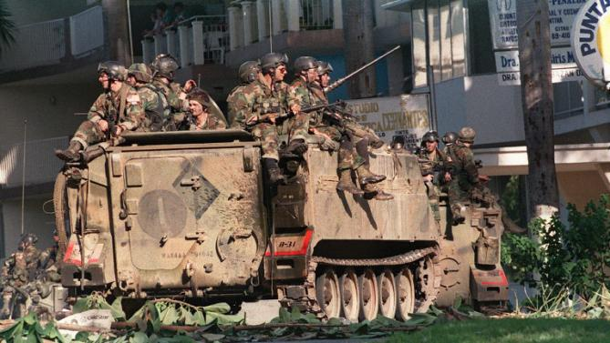 the us invasion of panama in 1989 and its results Us invades 1989 - opposition wins parliamentary elections, but noriega declares results invalid us invades panama.