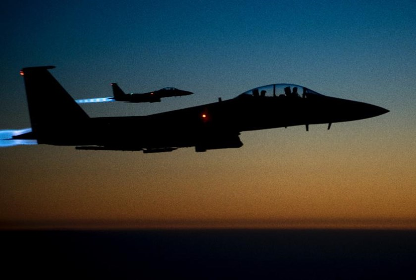 The US-led coalition began air strikes in Syria in September 2014