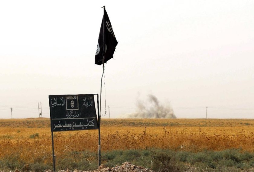 Islamic State forced onto the defensive