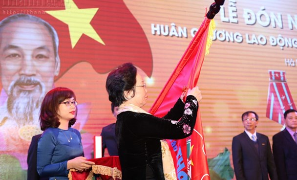 Thanh Nien Newspaper conferred with 1st-class Labor Order