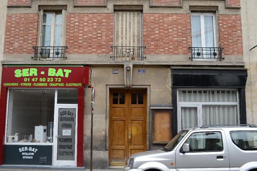 The first floor of the apartment lived in by two victims of a Chinese couple, who admitted to have killed another couple whose bodies were found in the Bois de Vincennes forest, near Paris, on June 19, 2012
