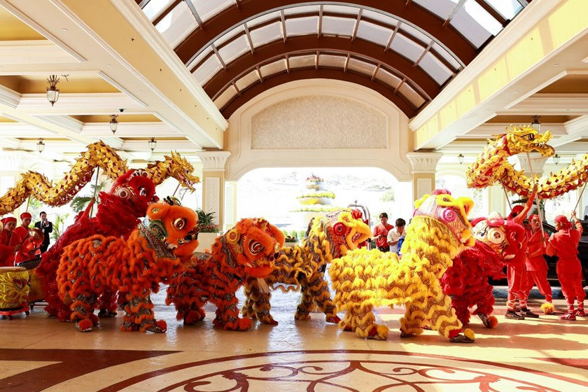 Traditional Lunar New Year entertaining activities at The Grand