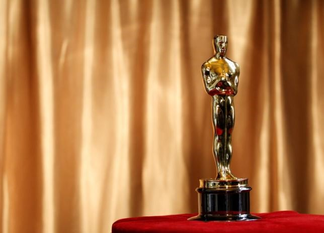 An Oscar statuette in a file photo