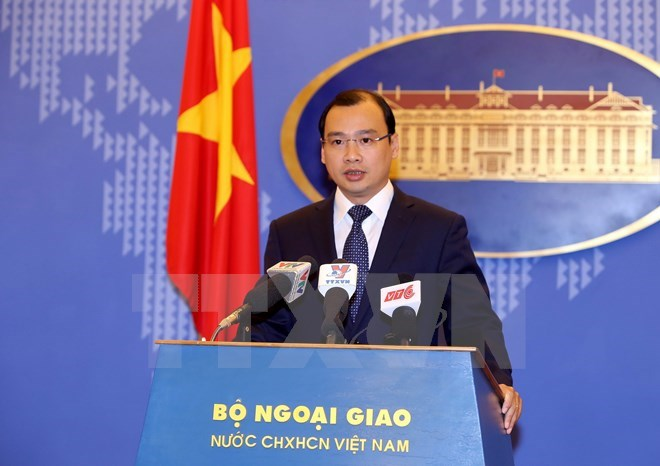 Foreign Ministry's Spokesperson Le Hai Binh