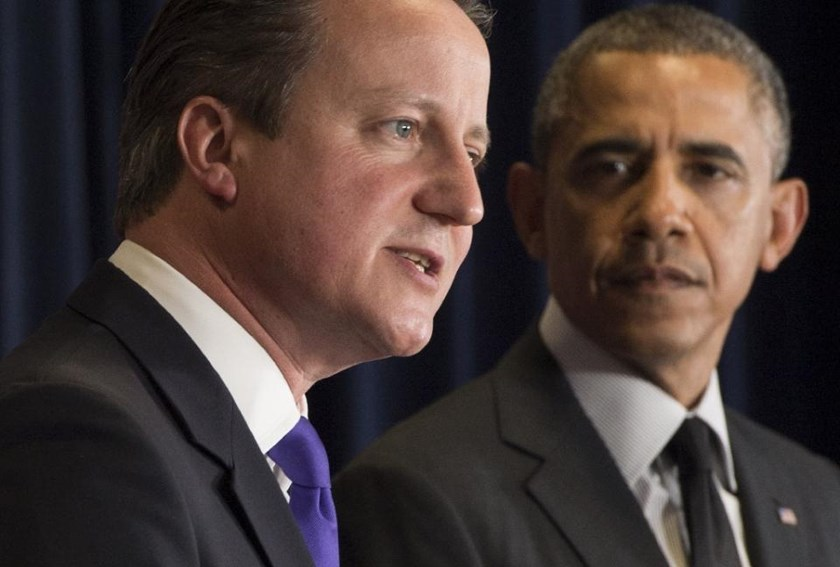 "US President Barack Obama told the Atlantic magazine that British Prime Minister David Cameron became ""distracted"" after the NATO-led military intervention in Libya"