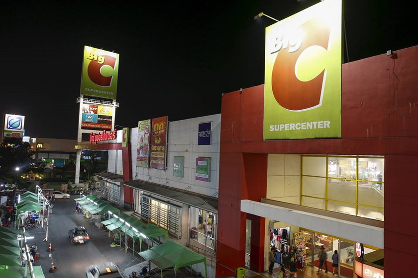 A Big-C Supercentre is pictured on the outskirts of Bangkok, Thailand. A person familiar with the process said bids valued Big C Vietnam at more than €1 billion.