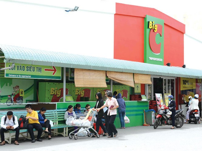 Japan's Aeon said to near agreement to buy Vietnam's Big C chain
