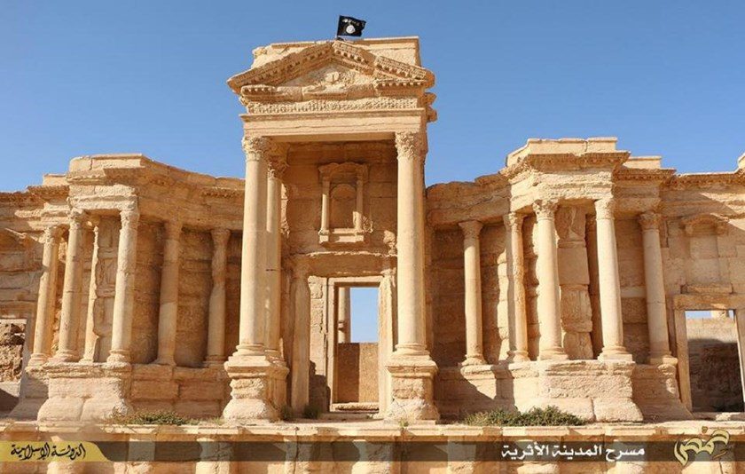 Islamic State fighters seized control of Palmyra -- a UNESCO World Heritage Site -- in May 2015
