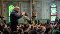 Muslims offer prayers at the Grand Mosque in Brussels on March 25, 2016