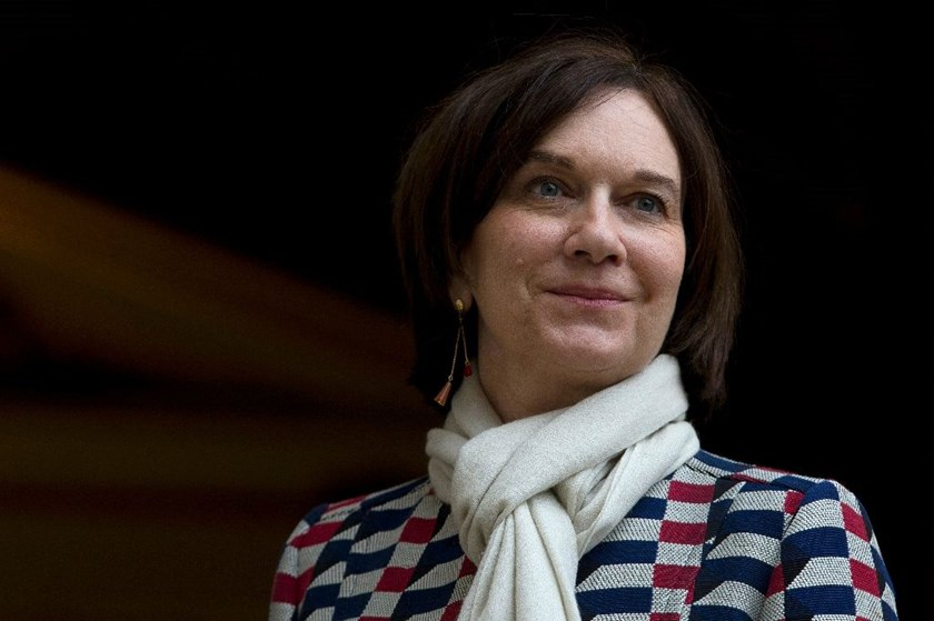 "French families minister Laurence Rossignol (pictured) sparked outrage on social media with her comment comparing women who wear the veil to ""negroes who supported slavery"""
