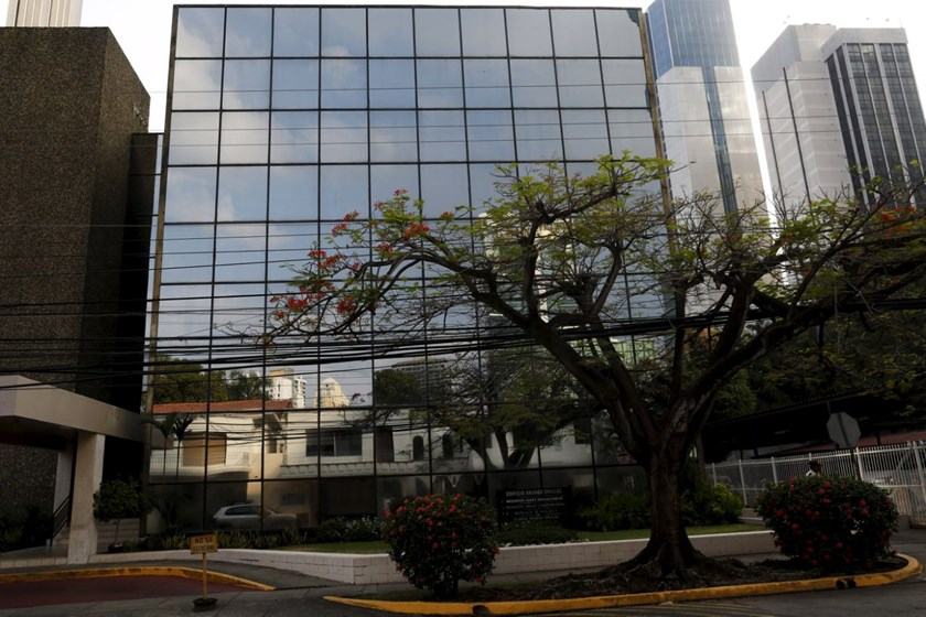 The Arango Orillac Building where the Mossack Fonseca law firm is situated at, is pictured in Panama City