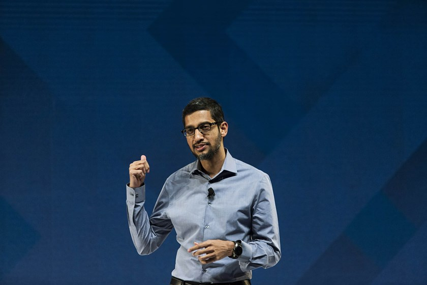 Sundar Pichai, chief executive officer of Google.