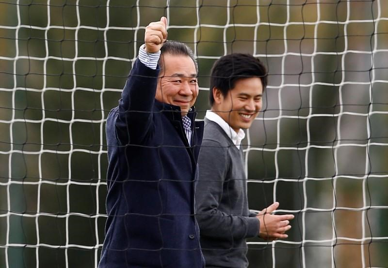 Leicester's Thai owners vow to keep unlikely title-winners together
